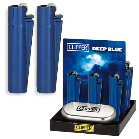 - CLIPPER LARGE METAL DEEP BLUE