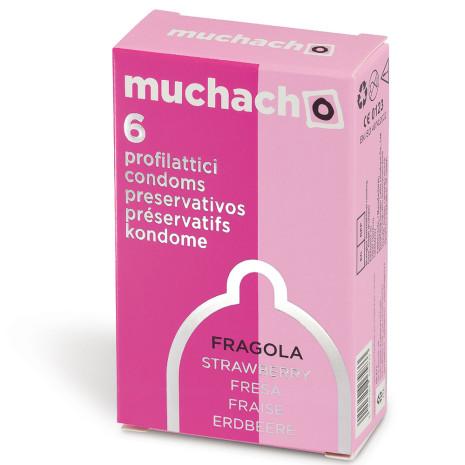Largo consumo - Profilattici - MUCHACHO - MUCHACHO FRAGOLA 6PZ