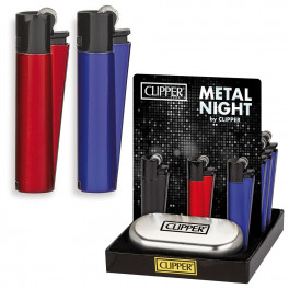 Accendini e Fiammiferi - Accendini da regalo - CLIPPER LARGE METAL NIGHT