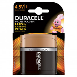Largo consumo - Pile - DURACELL PLUS POWER PIATTA 4.5V B1