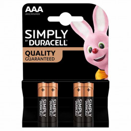 Largo consumo - Pile - DURACELL - DURACELL SIMPLY MINSTILO AAA B4