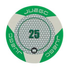 Gioco - ACCESSORI - JUEGO FICHES TOURNAMENT 25