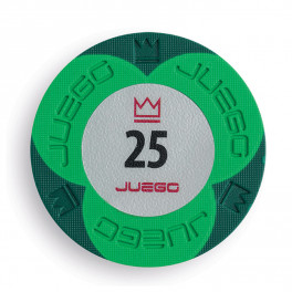 Gioco - PRO - JUEGO FICHES EMBOSSED 25