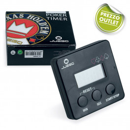 Outlet - PRODOTTI STOCK - JUEGO POKER TIMER 5 PZ