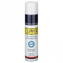 Accendini e Fiammiferi - Benzina, gas, accessori - CLIPPER GAS WHITE PURE 300 ML