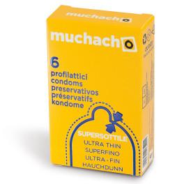 Largo consumo - Profilattici - MUCHACHO ULTRA FINE 6