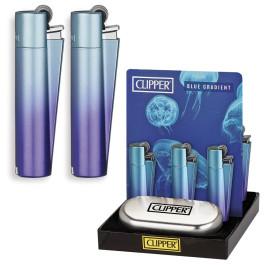 CLIPPER LARGE METAL BLUE GRADIENT
