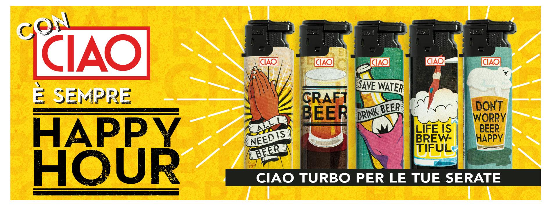 CIAO | ACCENDINO LARGE TURBO