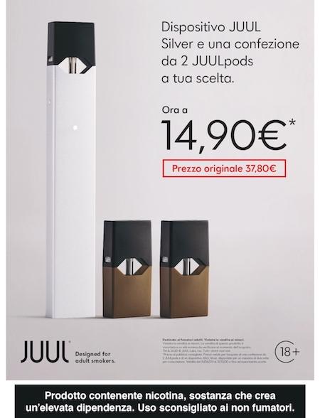 promo silver JUUL